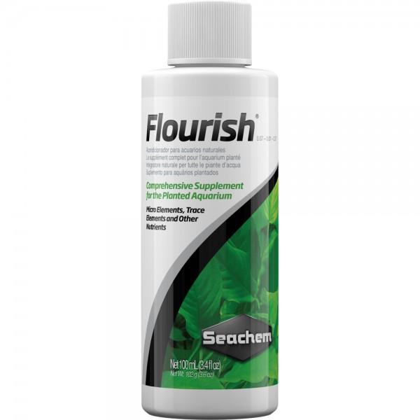 Seachem Flourish 100ml Mikronährstoffe Dünger Aquarium