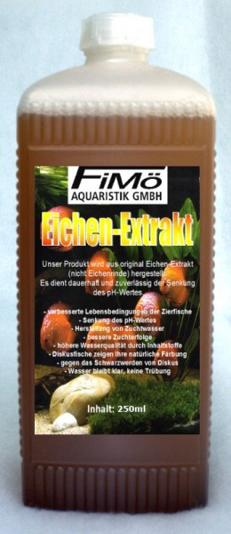 FiMö Eichenextrakt 250ml pH KH Wert Senkung