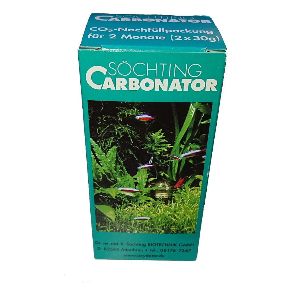 s chting carbonator bio co2 d ngung nachf llpackung 2x30g aquaristik. Black Bedroom Furniture Sets. Home Design Ideas
